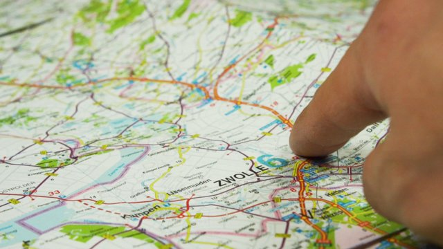 Moving Finger Across A Map thumbnail