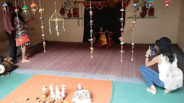 Puppet show Jaigarh Fort