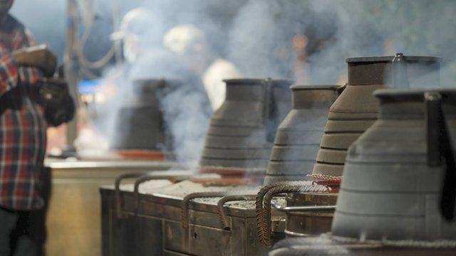 Cooking in Large Metallic Pots thumbnail