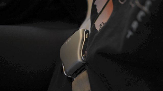 A Girl Unlocks Safety Seat Belt  thumbnail