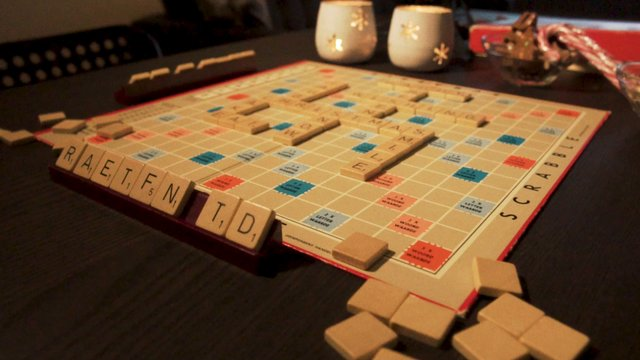 Scrabble with Christmas Words thumbnail