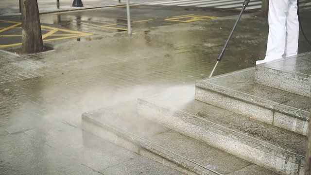 Street Disinfection during Covid-19 thumbnail