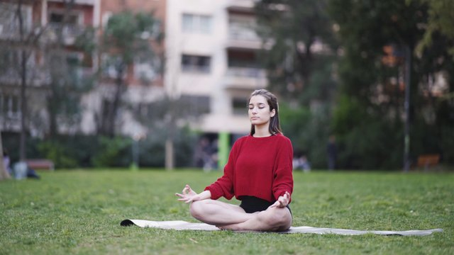 Meditation Practice In The Park thumbnail