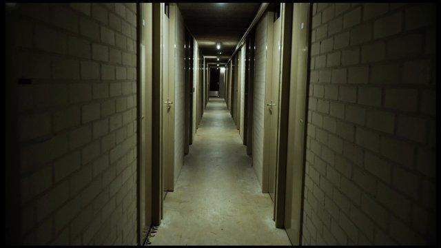 POV Walk On Scary Hallway thumbnail