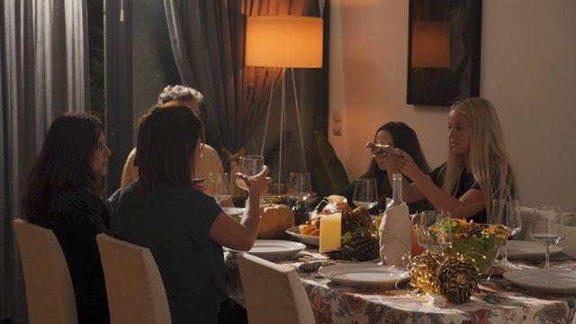 Girl Makes Photos of Thanksgiving Celebration thumbnail