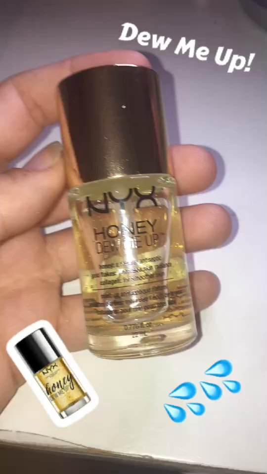review of NYX Honey Dew Me Up Primer