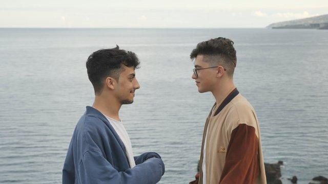 Hugging Gay Couple thumbnail