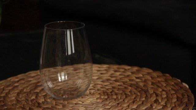 Cognac Poured into Glass thumbnail