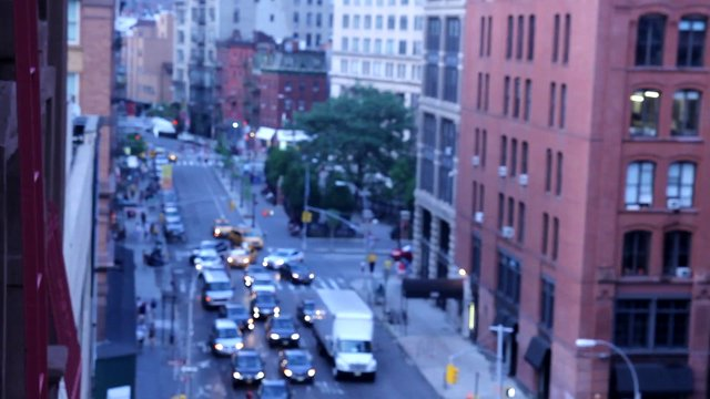 Traffic in Downtown NYC thumbnail