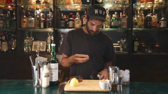 Bartender Making a Cocktail  thumbnail