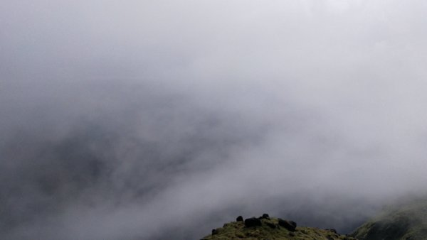 In the clouds of Coorg...
