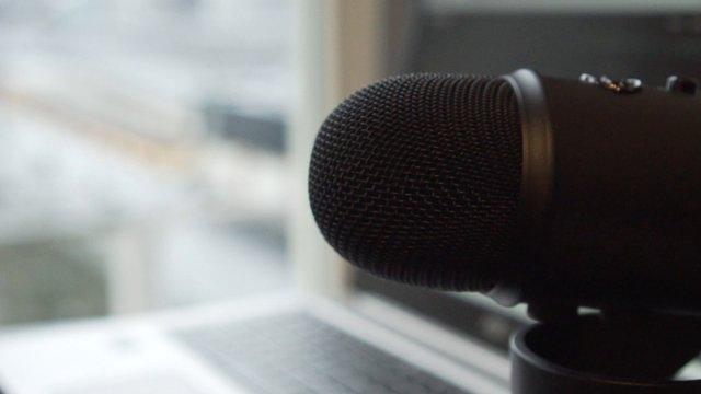 Black Microphone Near Laptop thumbnail