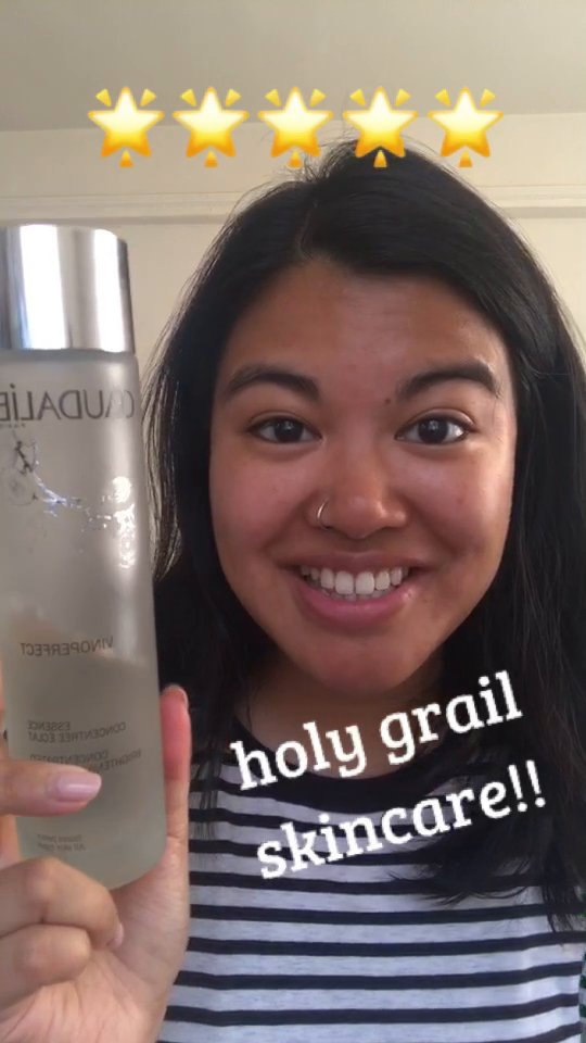 review of Caudalie Concentrated Brightening Essence