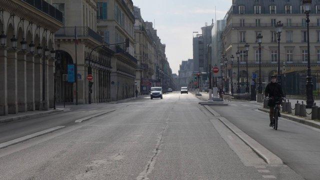 Rue De Rivoli Near Louvre Museum  thumbnail