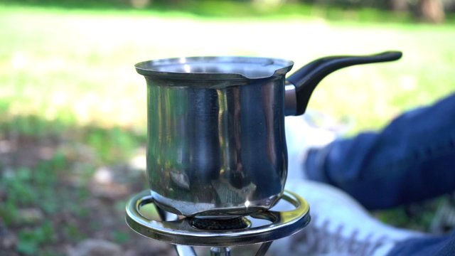 Outdoors Coffee Making  thumbnail