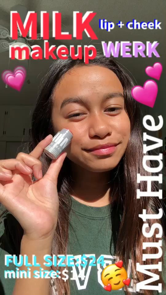 review of Milk Makeup Lip + Cheek, Werk