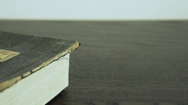 Old Bible Covered In Dust thumbnail