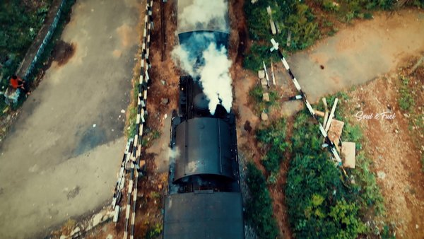 A quick drone video of the Nilgiri Mountain Railway (Seen from an Airplane Windowseat? ????)