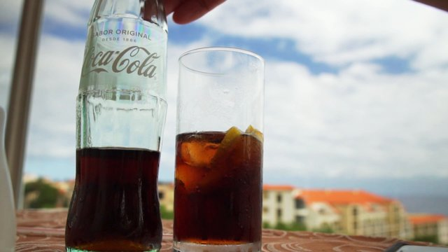 Pouring A Glass Of Coca-Cola thumbnail