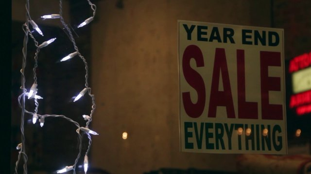 Year End Sale Sign thumbnail