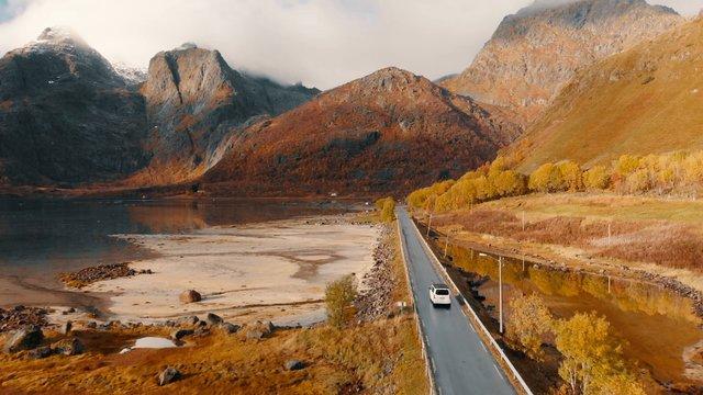 Road Through Lake thumbnail