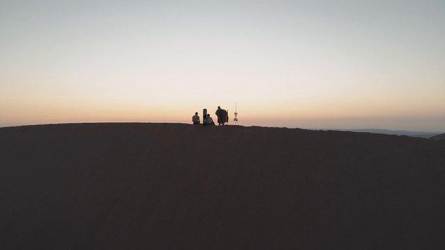 Travelers In The Desert thumbnail