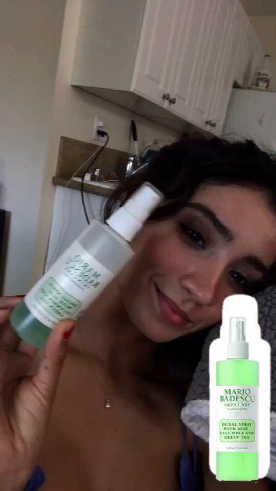 review of Mario Badescu Facial Spray with Aloe, Cucumber and  Green Tea