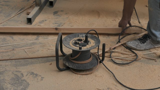 Extension Cord on Construction Site thumbnail
