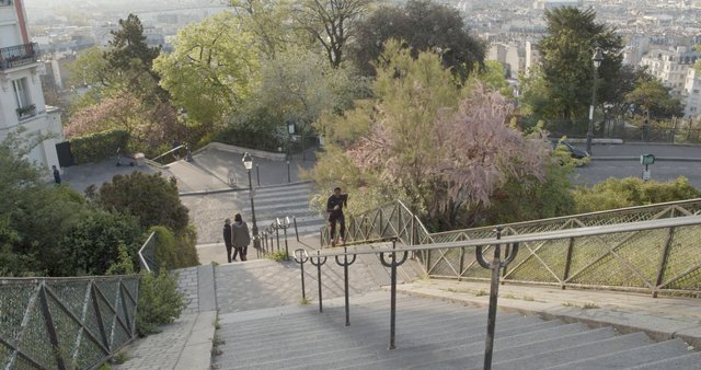 Man Running Up The Stairs thumbnail