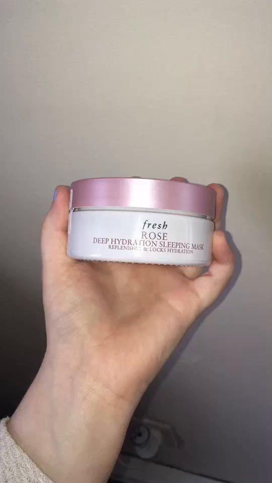 review of Fresh Fresh Rose Deep Hydration Sleeping Mask 2✖️(35ml - 1.18oz)