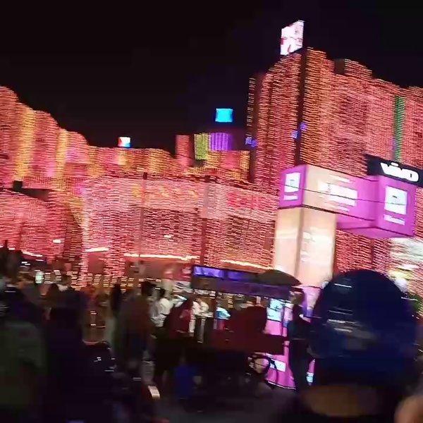 Diwali Lighting Decorations Ganpati Plaza M. I. Road Jaipur