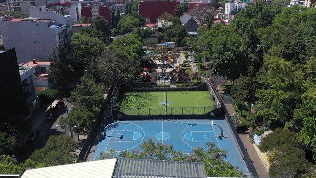 Empty Park In Mexico City thumbnail