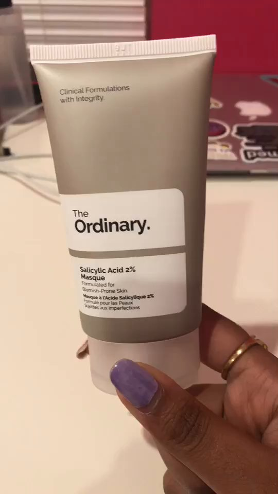 Watch Srijak S Review Of The Ordinary Salicylic Acid 2 Masque Supergreat