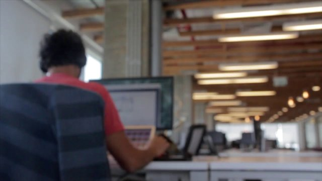 Man Working in the Office thumbnail