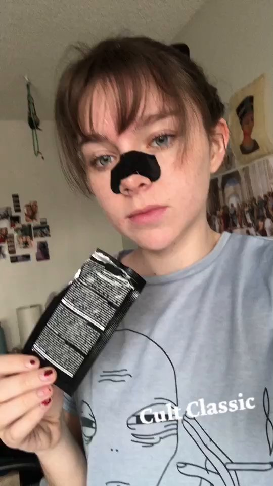 review of Bioré Deep Cleansing Charcoal Pore Strips for Nose