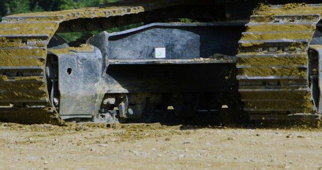 Bulldozer On Construction Site thumbnail