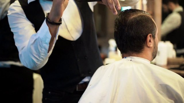 Hair Grooming in Barbershop thumbnail
