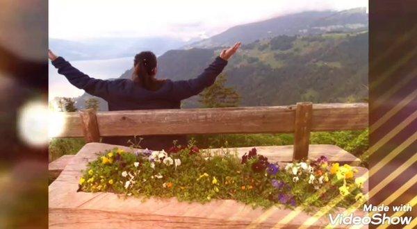 Witness majestic mountains of #harderklum #swissalps #switzerland