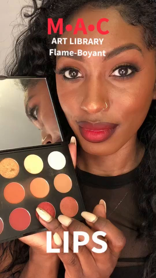review of MAC Art Library: Flame-boyant