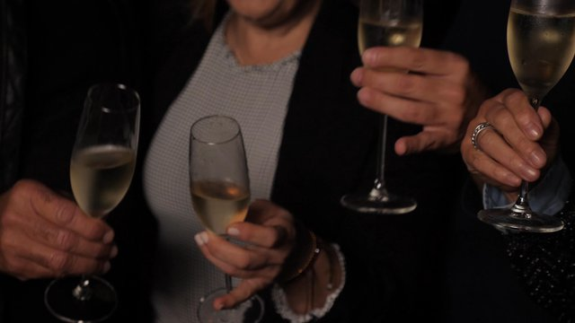 Clinking Glasses With Champagne thumbnail