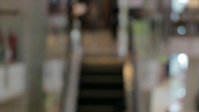 Blurred Stair Escalator  thumbnail