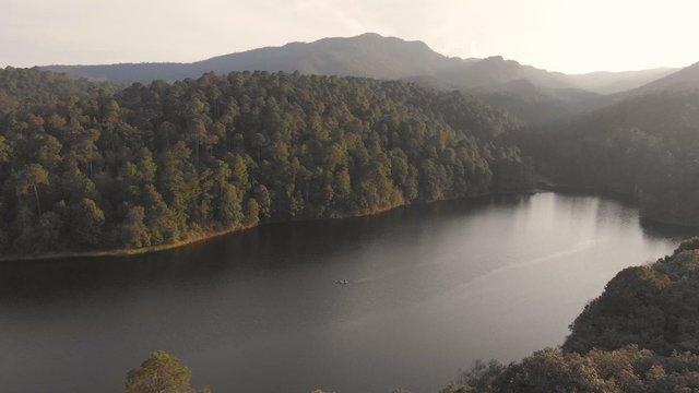 Kayak Lake Paradise In Mexico thumbnail
