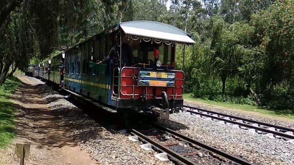Nilgiri Mountain Railway Toy Train .(one of the  UNESCO World Heritage site )