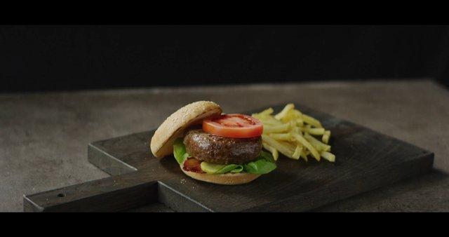 Adding Onion Topping on Hamburger thumbnail