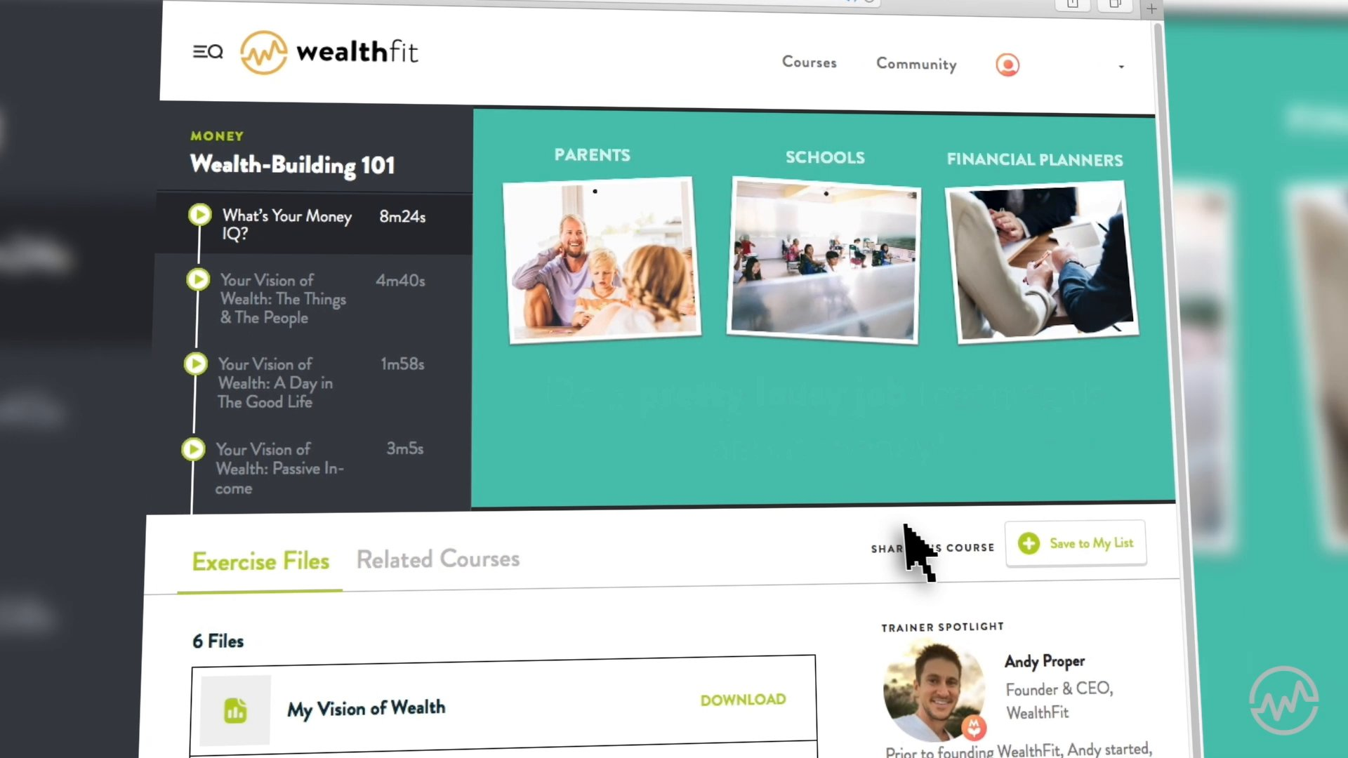 WealthFit Startup Intensive