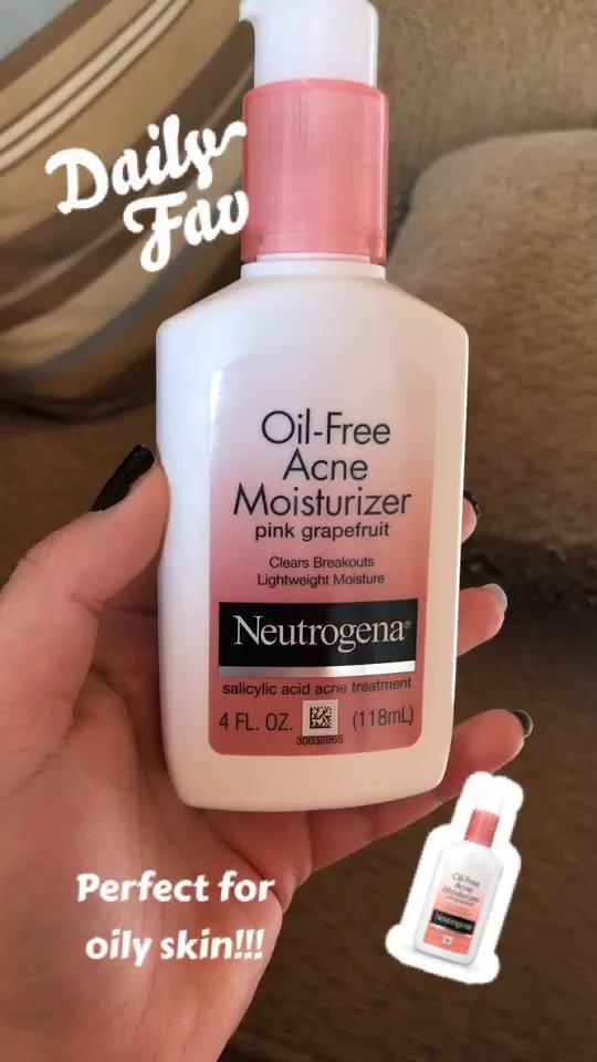 Neutrogena Neutrogena Oil Free Facial Moisturizer For Acne With