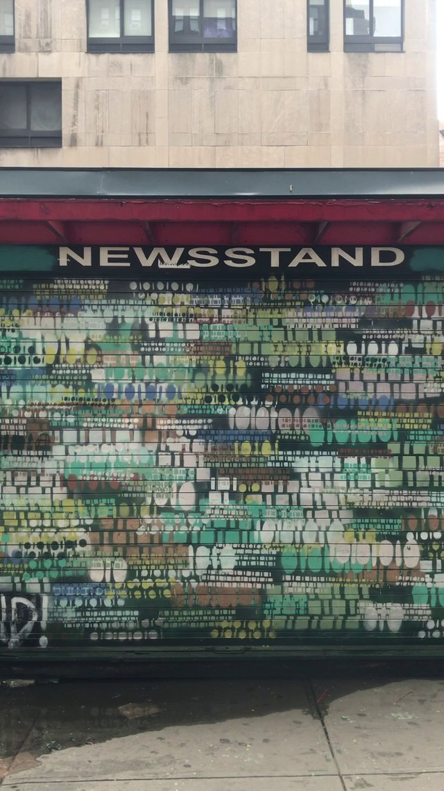 Painted News Stand Door thumbnail