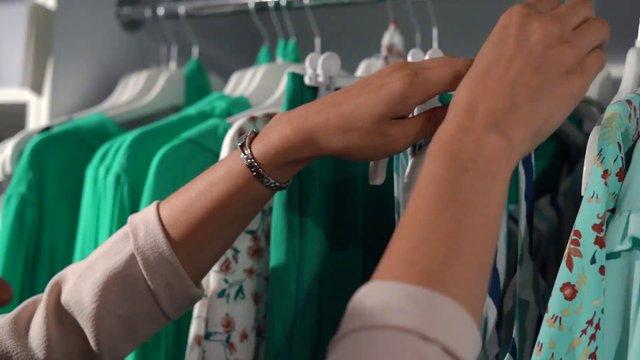 Woman Choosing Outfits  thumbnail