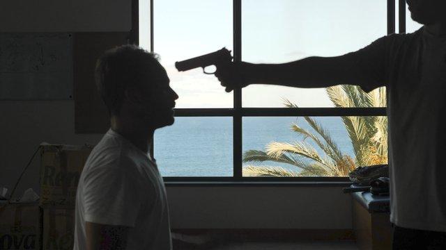 A Man Works Out a Gun Defense thumbnail