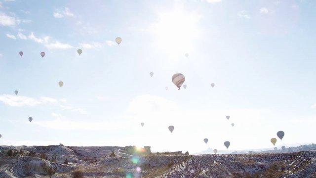 Hot Air Balloon Postcard thumbnail